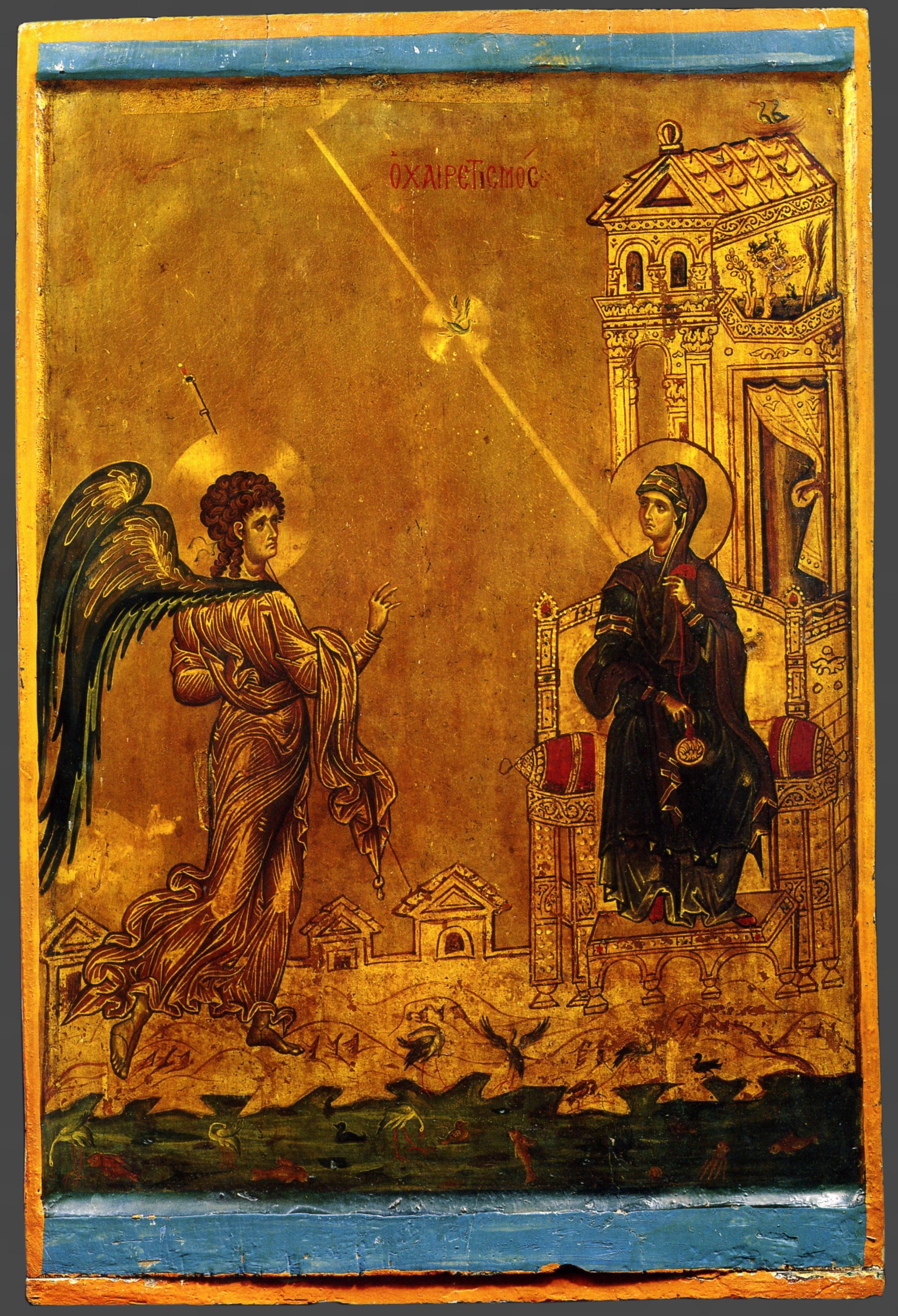 Благовещение, Монастырь Св. Екатерины на Синае