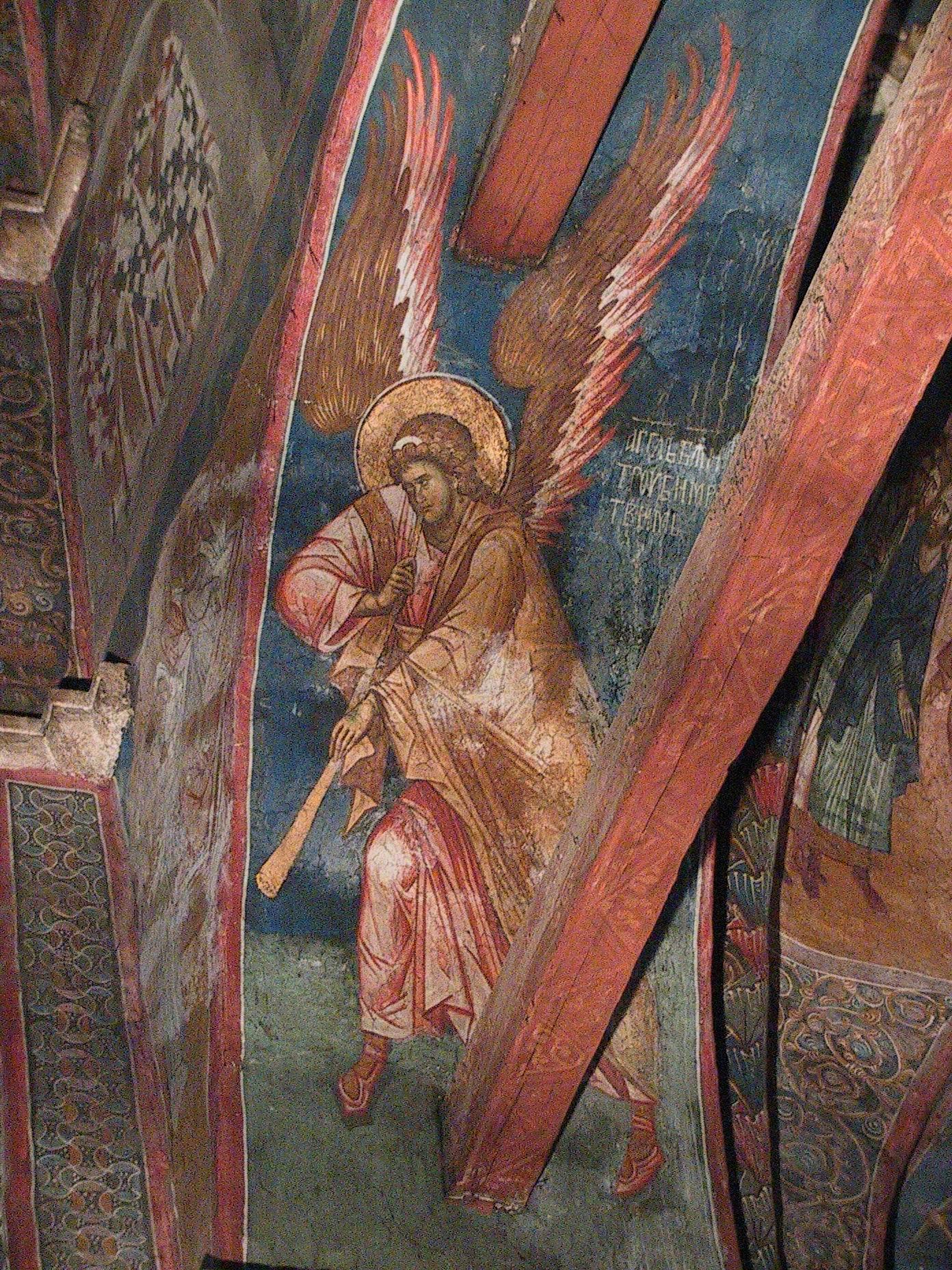 печать идт и смотри и вострубили ангел конь Окладом